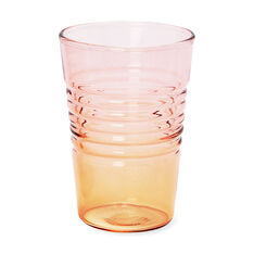 Ombré Juice Glasses in color Orange/Pink