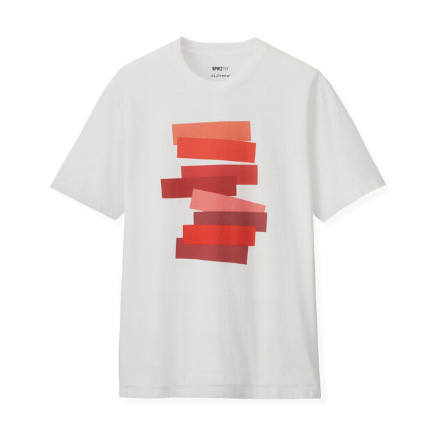 UNIQLO Josef Albers T-Shirt in color White