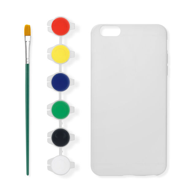 Paint Your Own iPhone Case I6 in color
