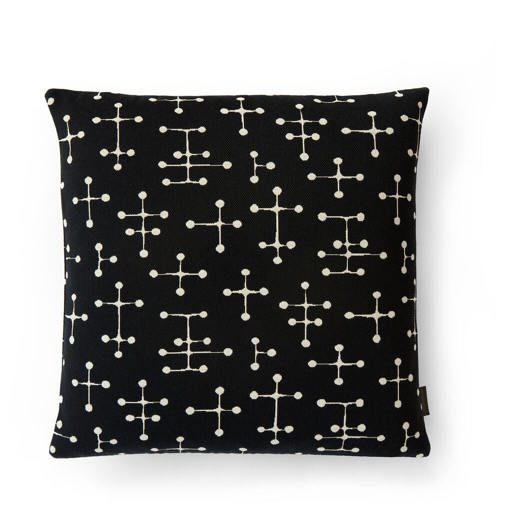 Small Dot Pattern Pillow in color