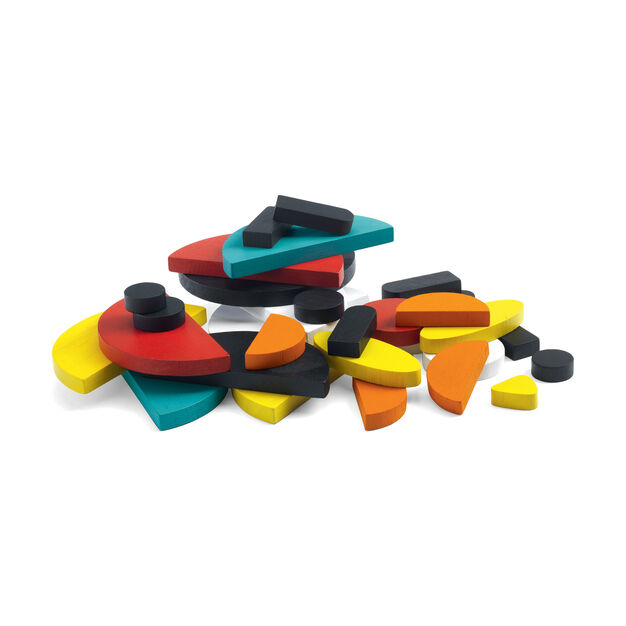 <div>Ze Géoanimo Toy Blocks</div> in color
