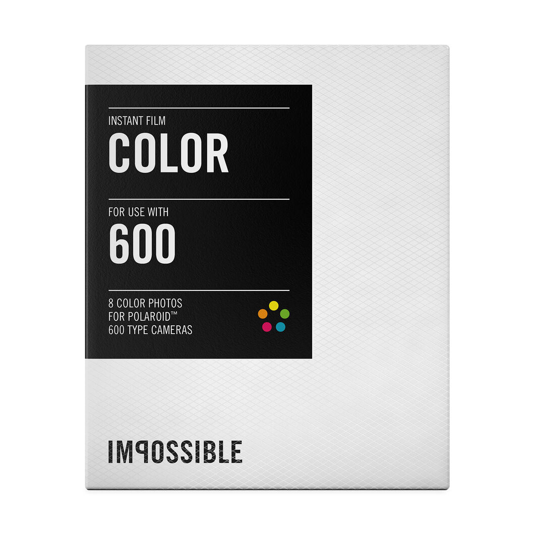 Color Instant Film in color