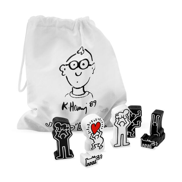Keith Haring Chess Set in color