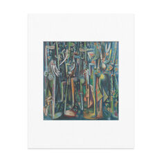 Matted Print Lam: The Jungle in color