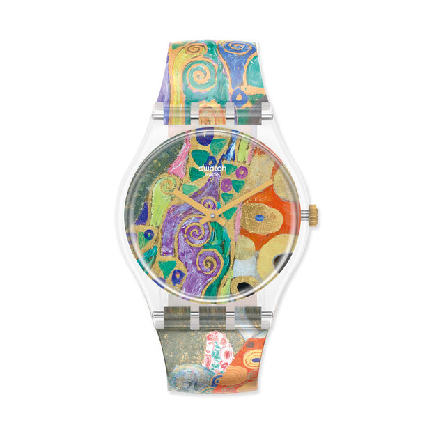 Swatch x MoMA Watches in color Klimt