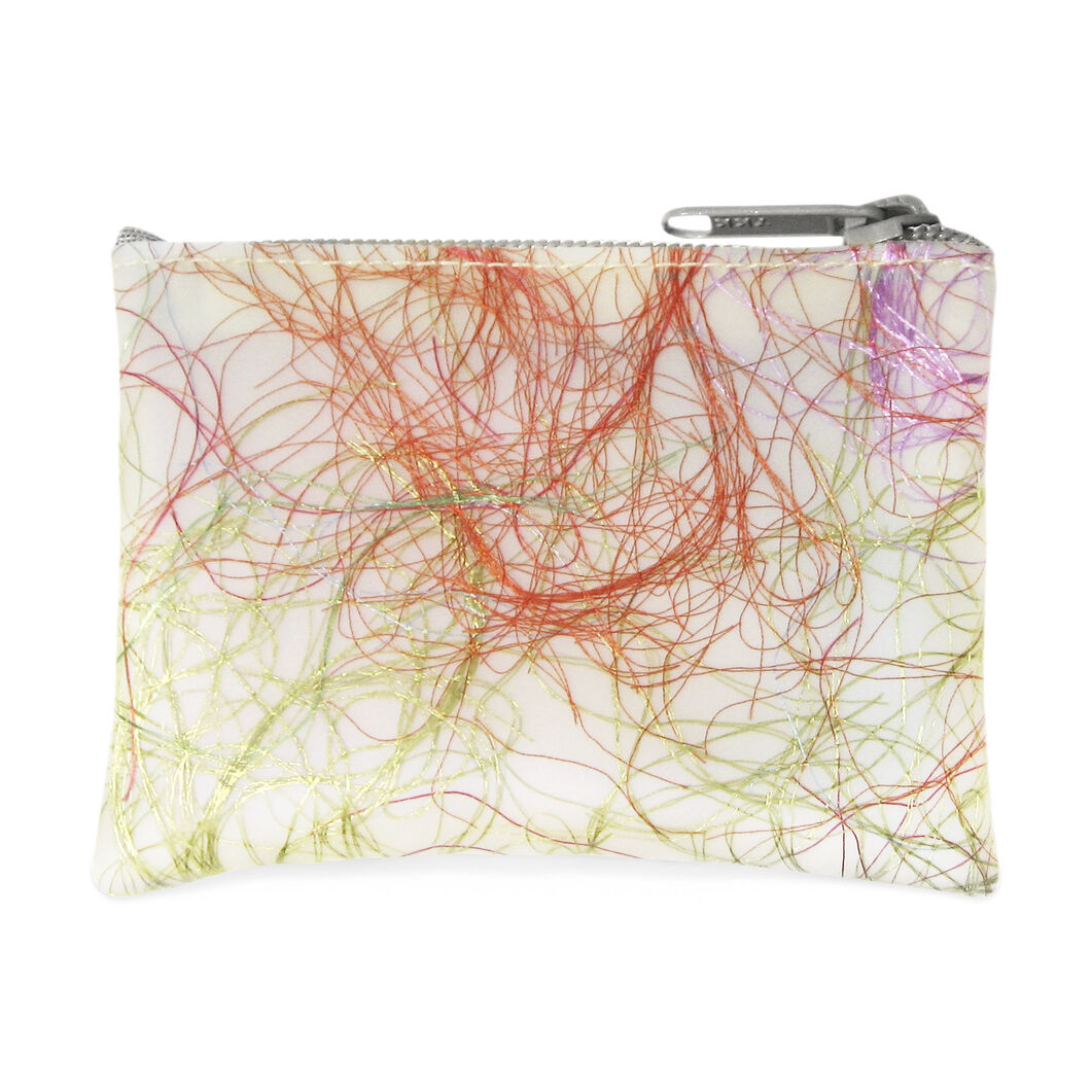 Colorful Coin Purse - Subdued Tones in color Subdued Tones