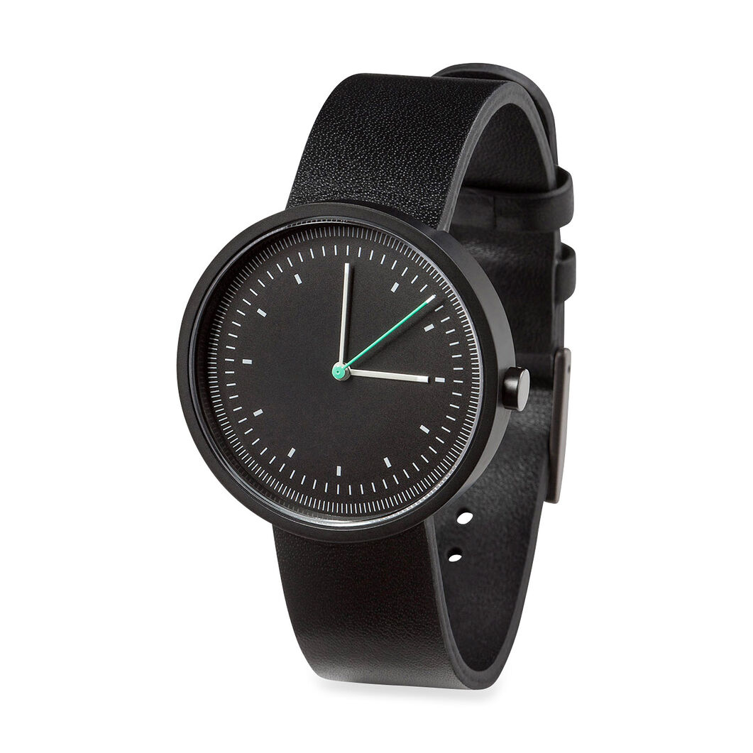 Interval Watch in color Black