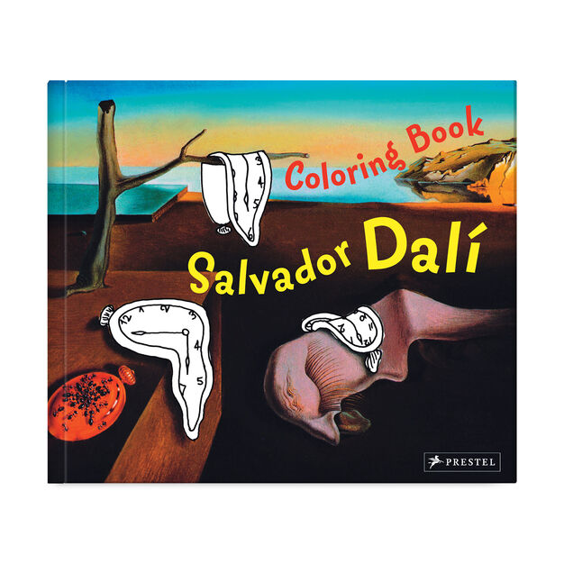 Coloring Book Dali in color