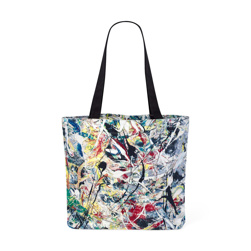 White Light Tote in color