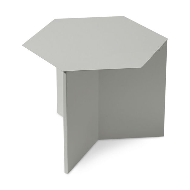 HAY Hexagon Slit Table in color