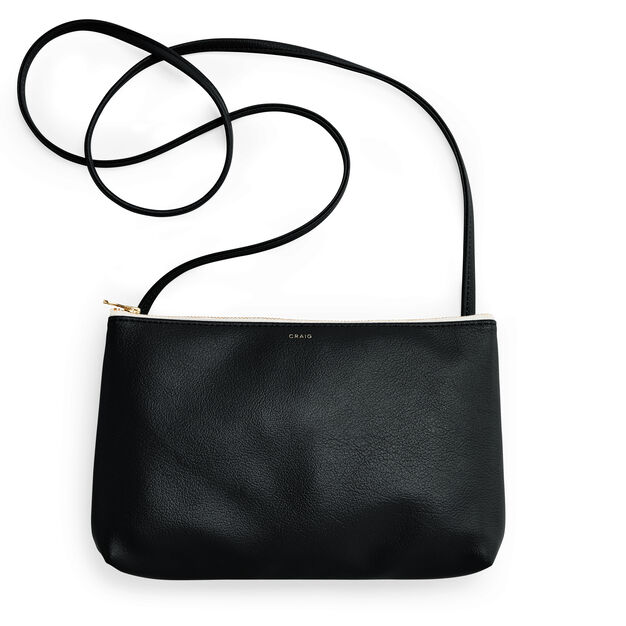 Delfonics Craig Crossbody Bag in color Black