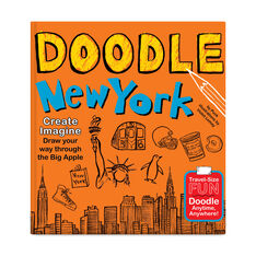 Doodle New York in color