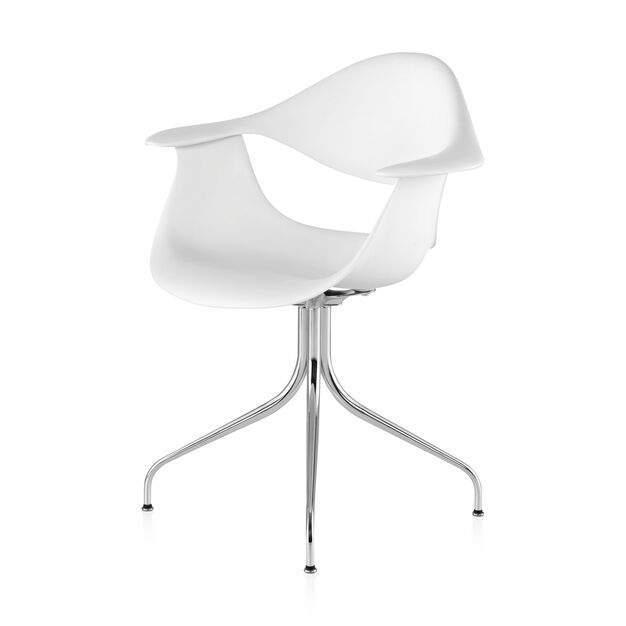George Nelson™ Swag Leg Chair from Herman Miller© in color