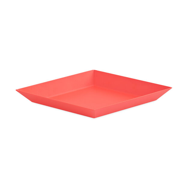 HAY Kaleido Tray Red Extra Small in color Red