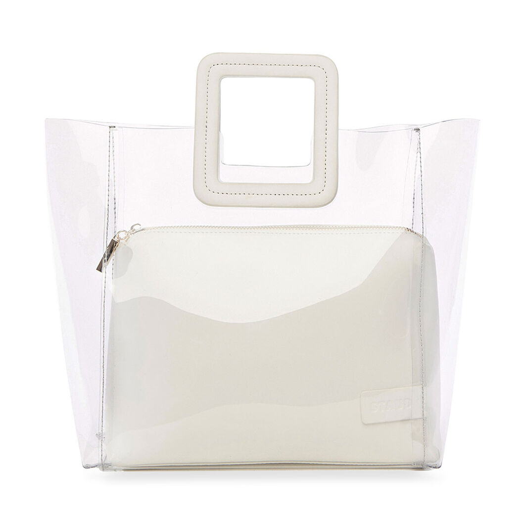 Staud Shirley Tote Bag in color White