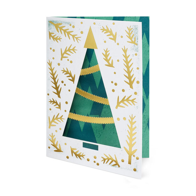 Holiday Tree Holiday Cards (Box of 8) in color