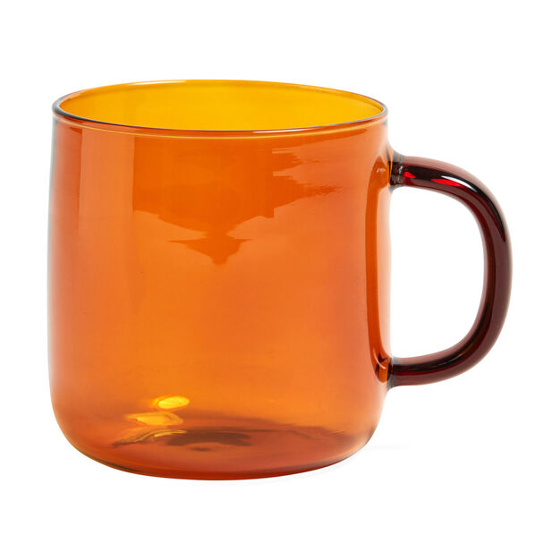HAY Borosilicate Mugs in color Amber