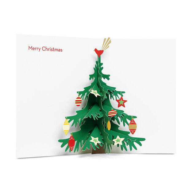 Joyful Tree Holiday Cards in color