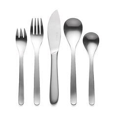Yanagi Flatware - Set of 5 in color