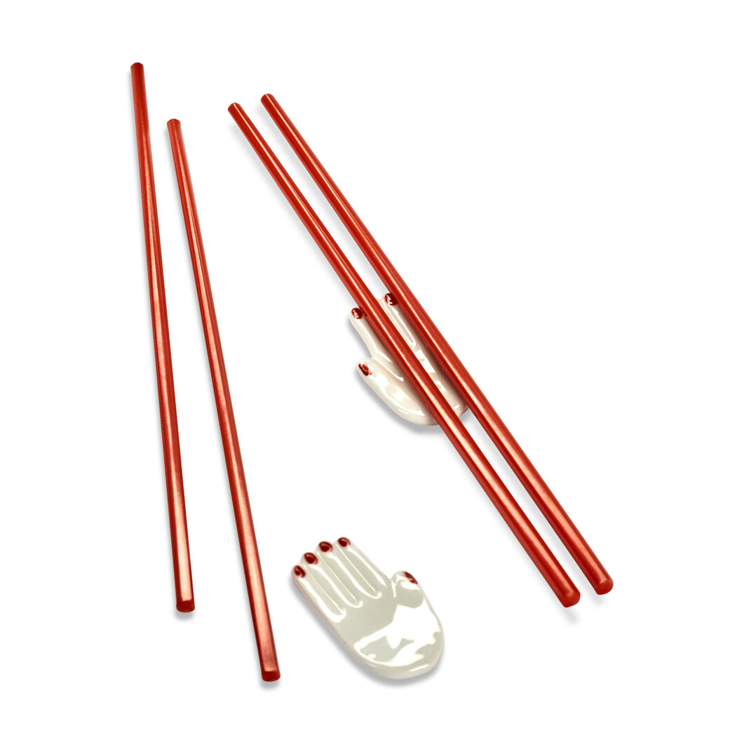 Nomade Chopsticks & Rests in color