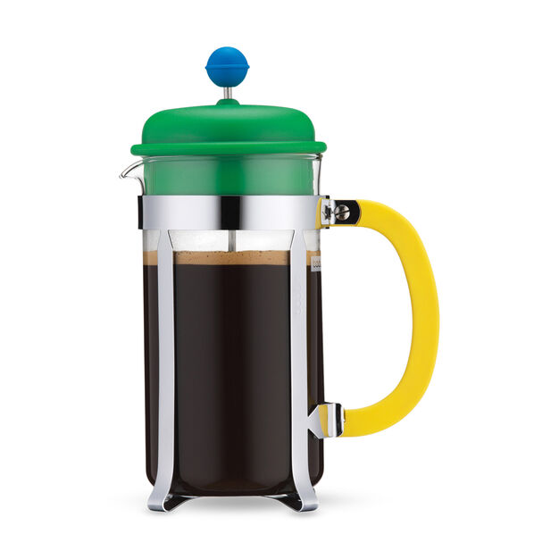 Bodum Caffettiera French Press in color Green/ Yellow