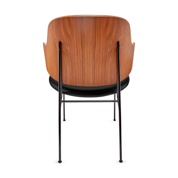 Penguin Lounge Chair in color Walnut