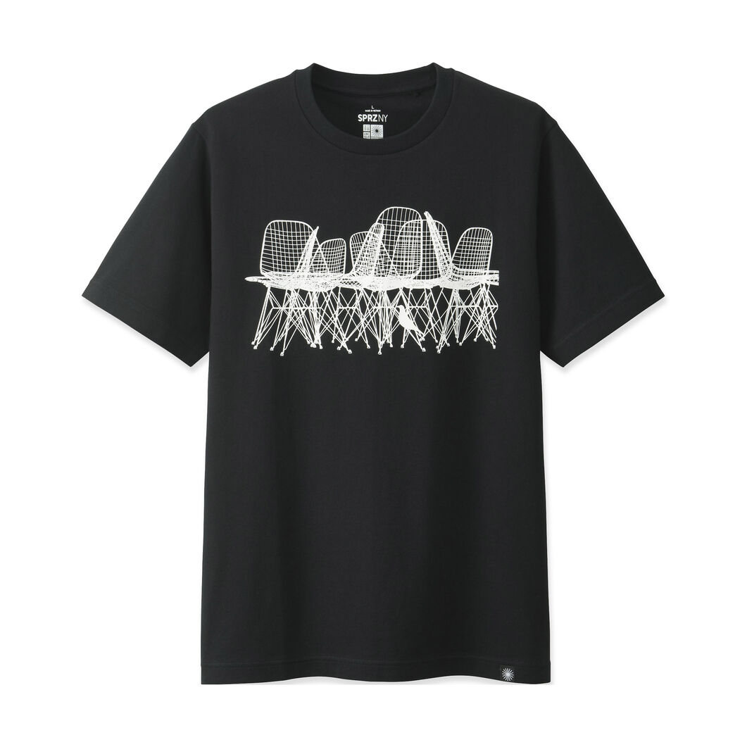 Uniqlo eames chair t shirt moma design store for Create t shirt store online