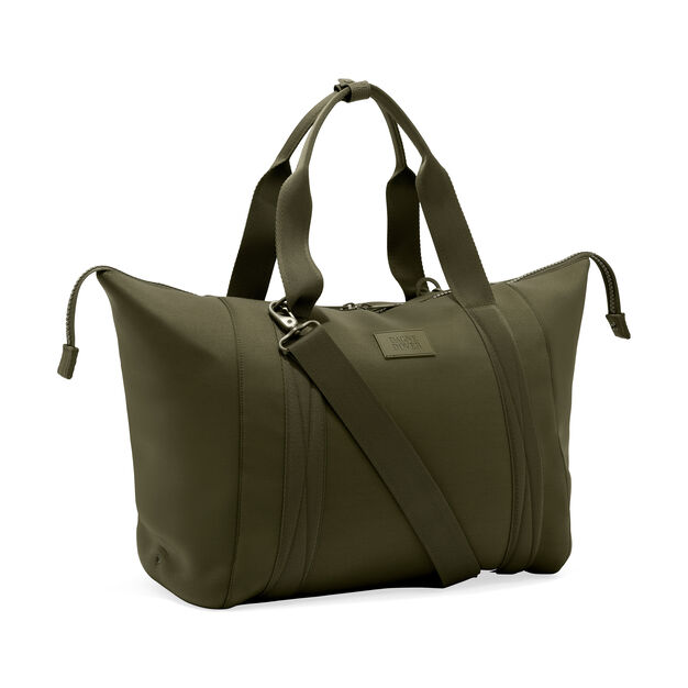 Dagne Dover Large Landon Carryall Bag in color Green