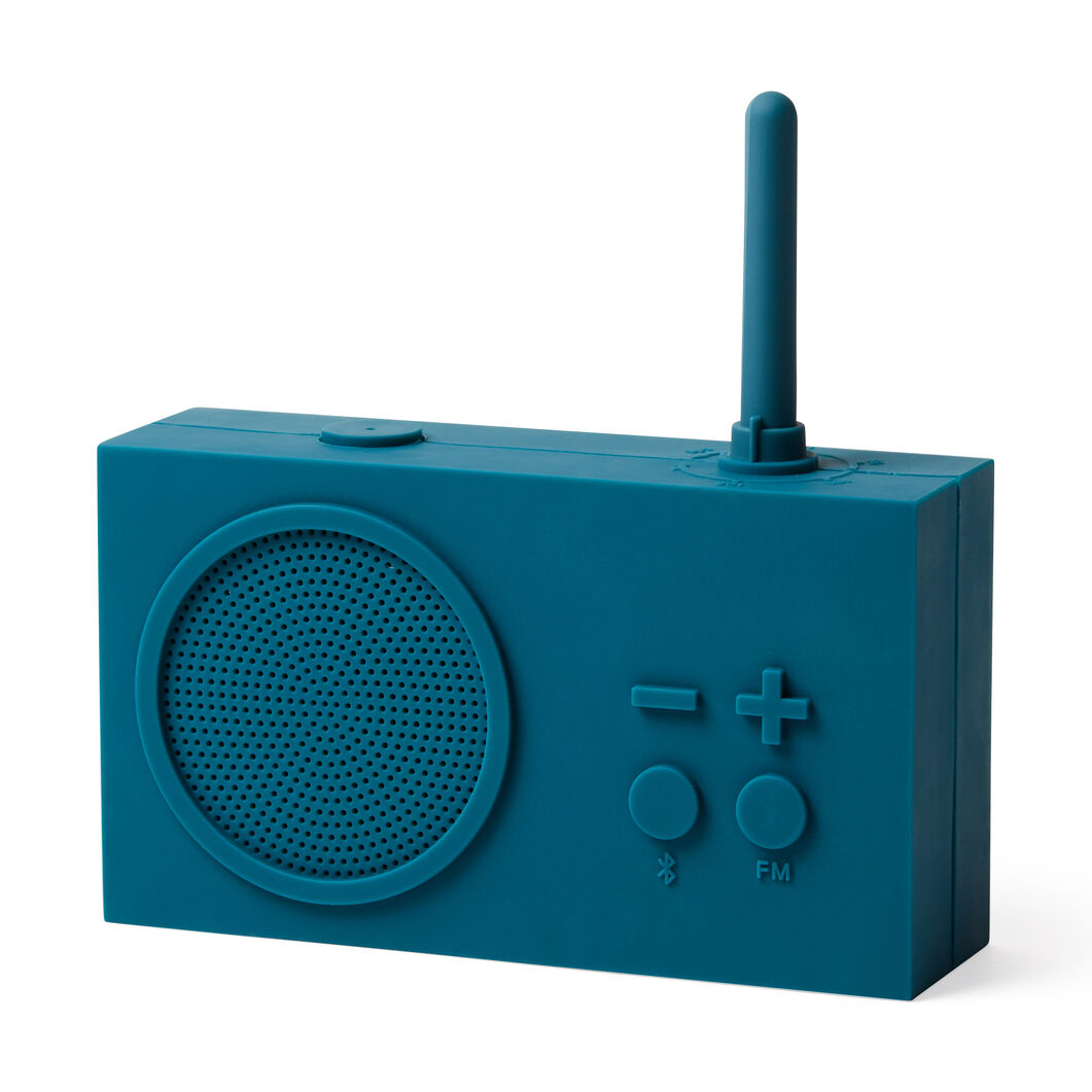 Lexon Tykho 3 Bluetooth Radio in color Blue