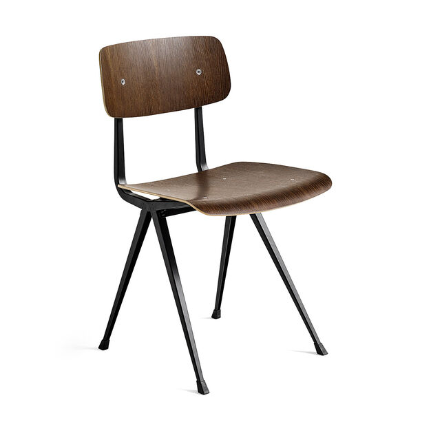 HAY Result Chair in color Smoked Oak/ Black
