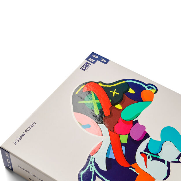 KAWS Jigsaw Puzzle - 1,000 Pieces in color Steady