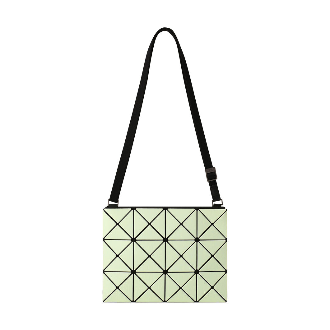 BAO BAO ISSEY MIYAKE Lucent Bi-Color Crossbody Bag in color Green/ Light Green
