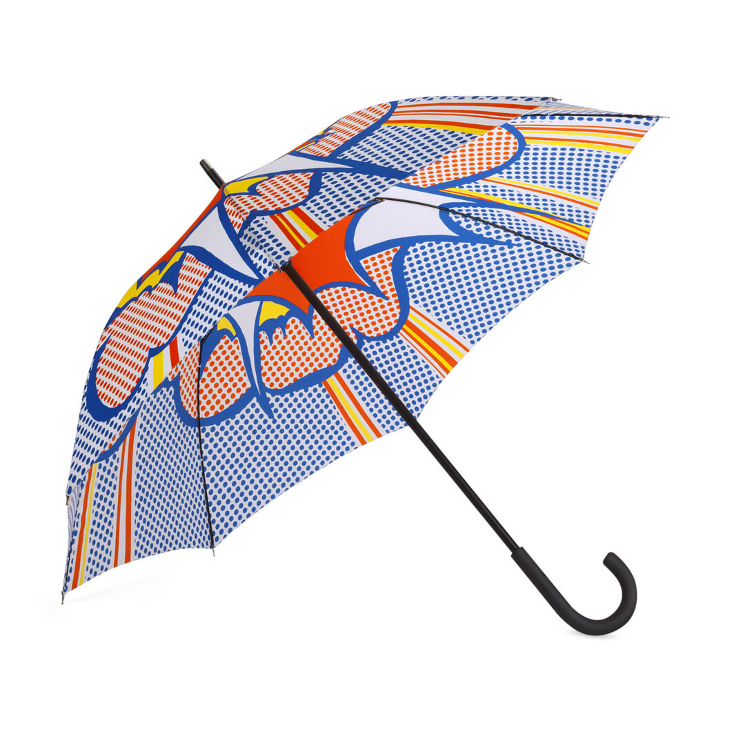 Roy Lichtenstein: Explosion Umbrella in color