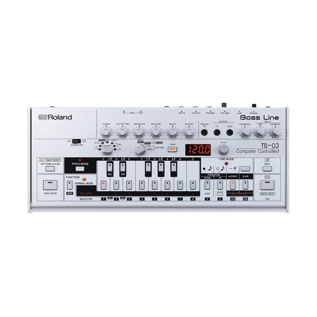 Roland Bass Line Boutique TB-03 in color