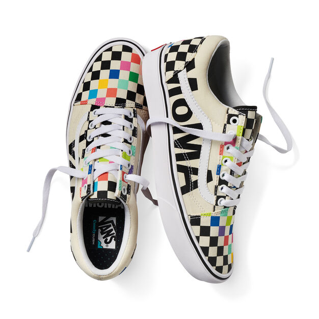 MoMA and Vans ComfyCush Old Skool Sneakers in color