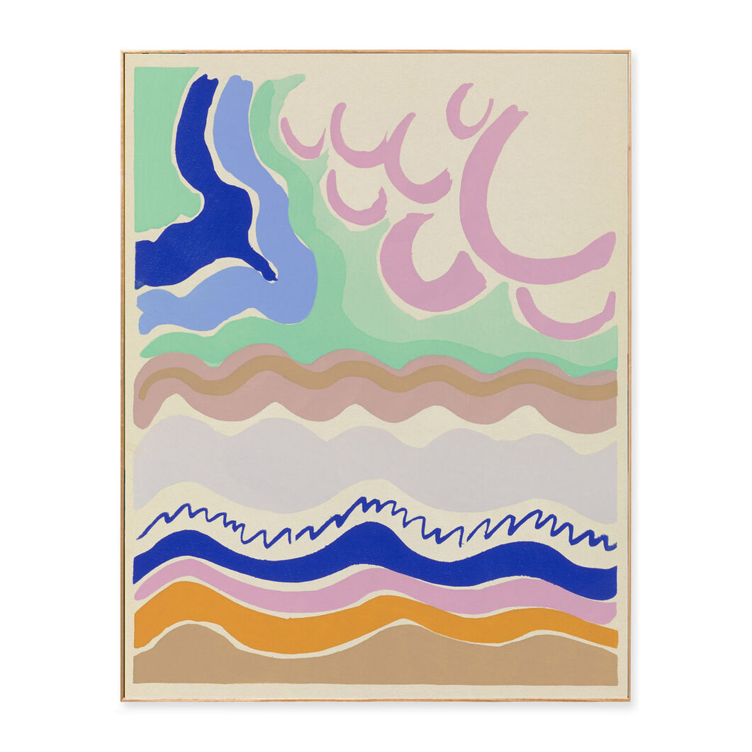 Delaunay: Plate 14 Framed Print in color