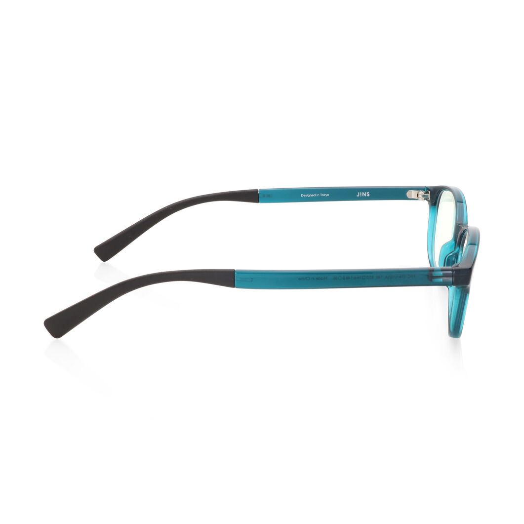 JINS Wellington Screen Glasses by Jasper Morrison in color Turquoise