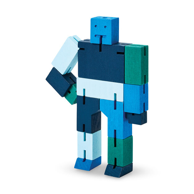 Cubebot® Capsule in color Blue