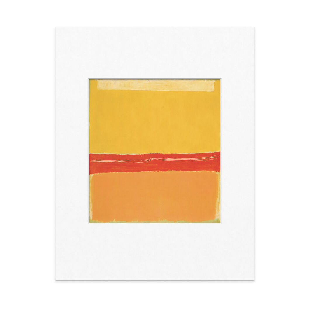 Rothko: No. 5/No. 22 Matted Print in color