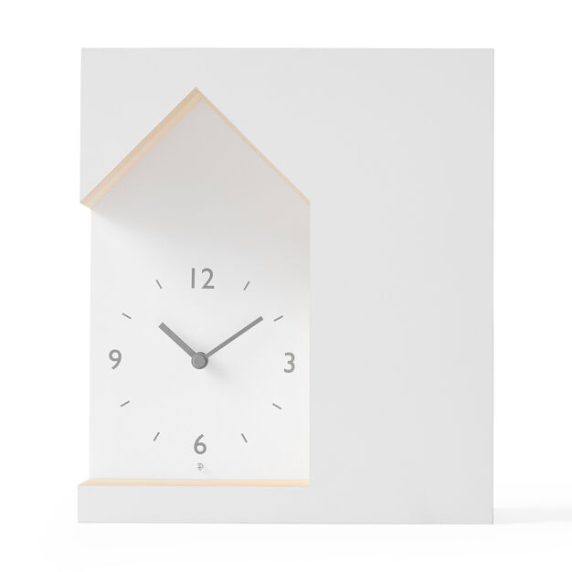 Nendo Dent Cuckoo Clock in color