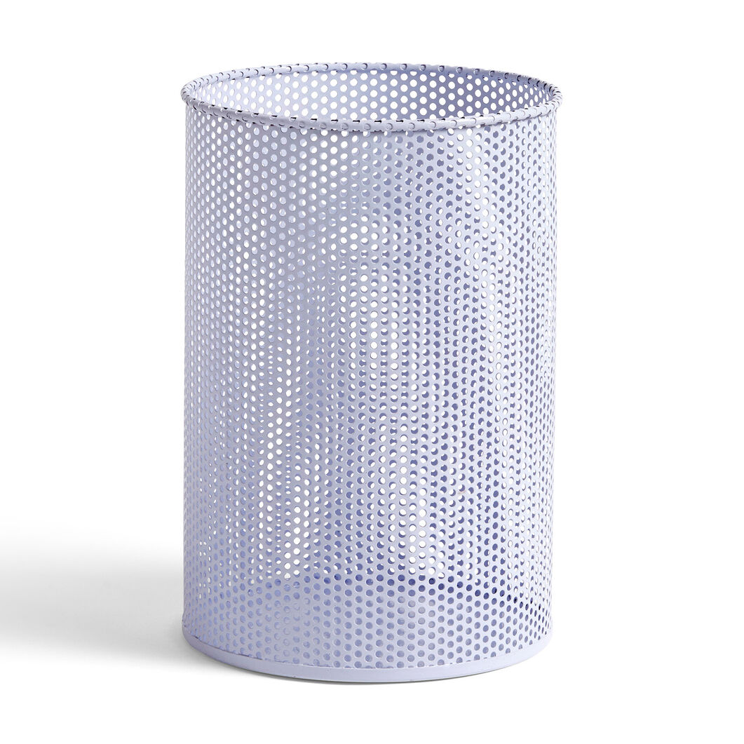 HAY Perforated Bin in color Lavender