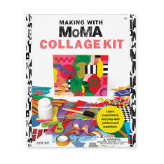 Making with MoMA: Collage Kit in color