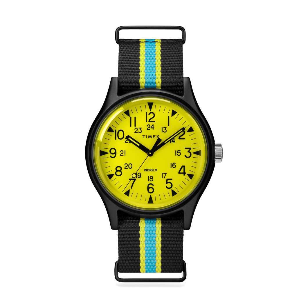 Timex MK1 California Watch in color Yellow