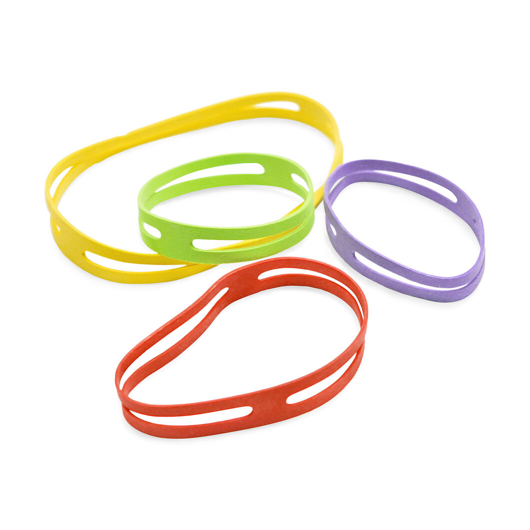 Rubber X-Bands in color