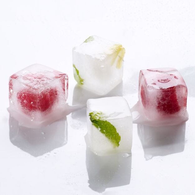 Cubic Ice Cube Tray in color