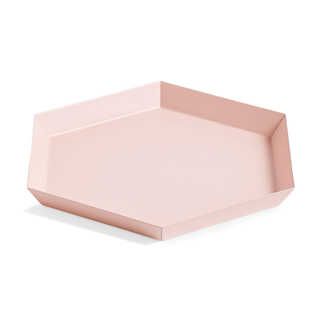 HAY Kaleido Tray Small in color Peach