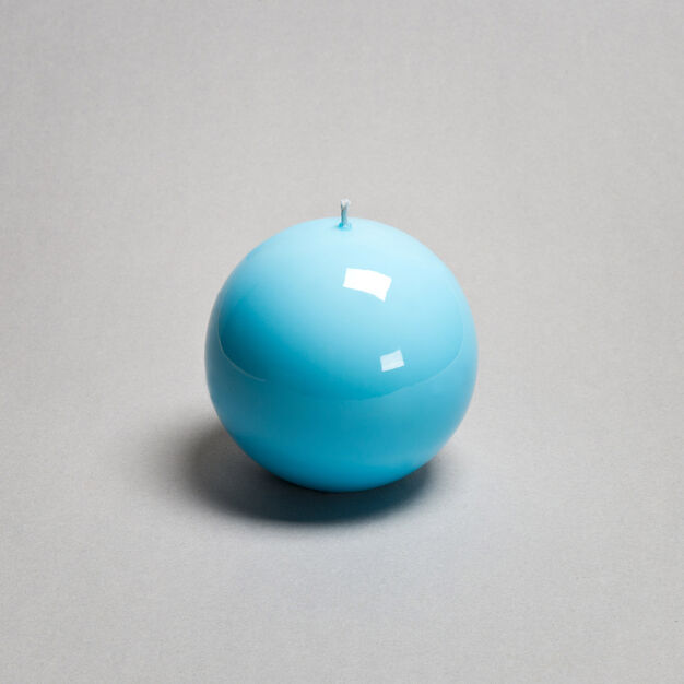 Meloria Ball Candle in color Light Blue