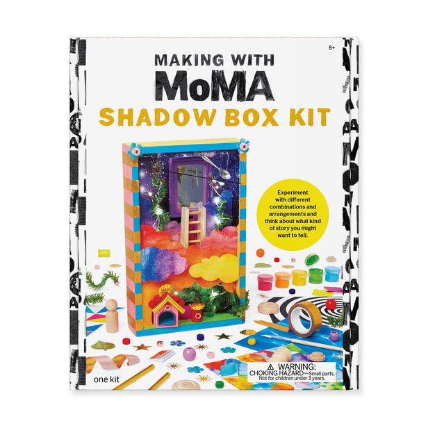 Making with MoMA: Shadow Box Kit in color