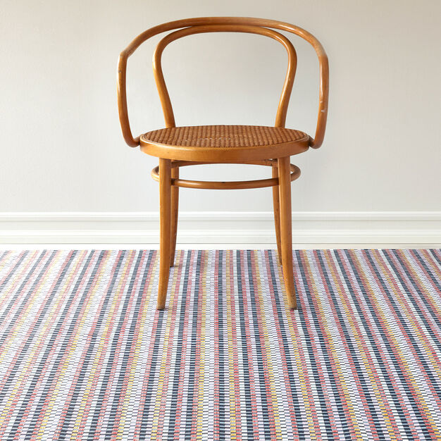 Chilewich Heddle Floormat in color Multicolor