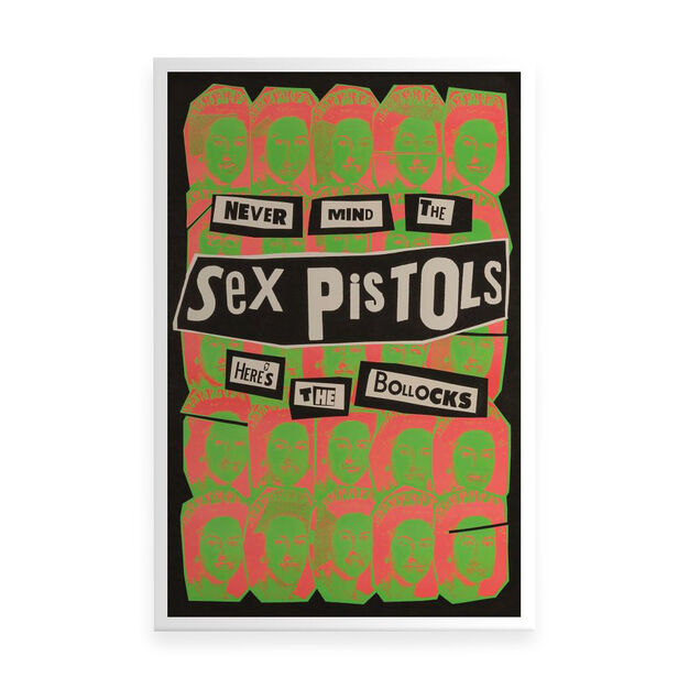 Sex Pistols: Never Mind the Bollocks Poster in color